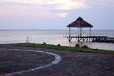 На берегу озера Никарагуа в Сан-Рамоне