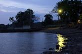 Ночь на берегу озера Никарагуа