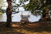 Пирс на озере