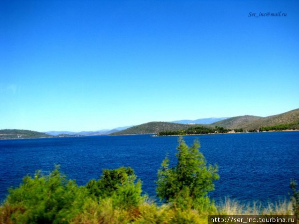 Синие просторы Эгейского моря
