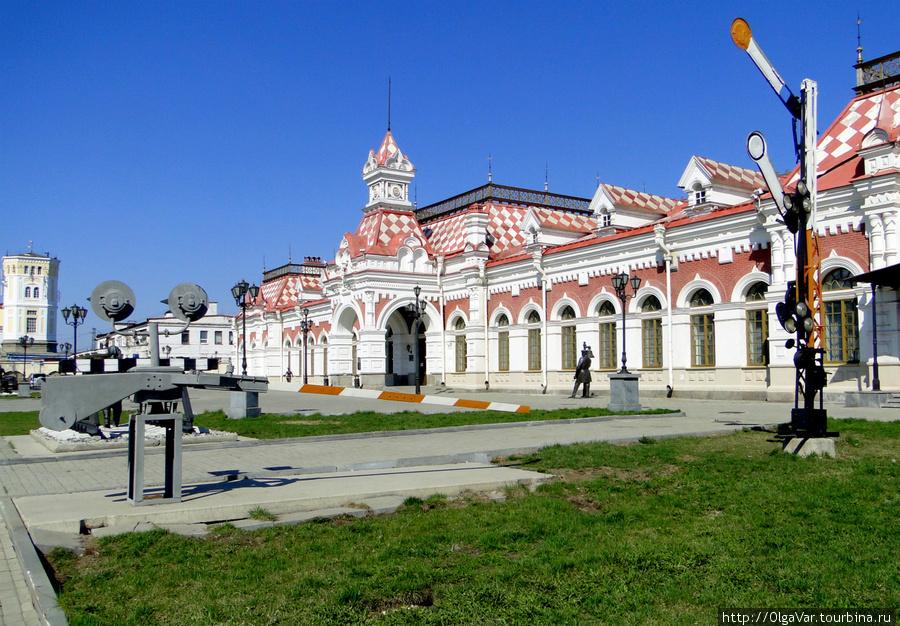 Первый железнодорожный вокзал Екатеринбурга