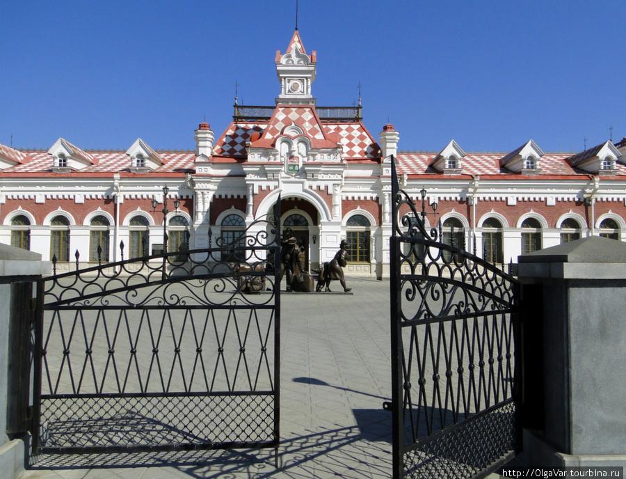 Екатеринбургский вокзал постройки 1878 года