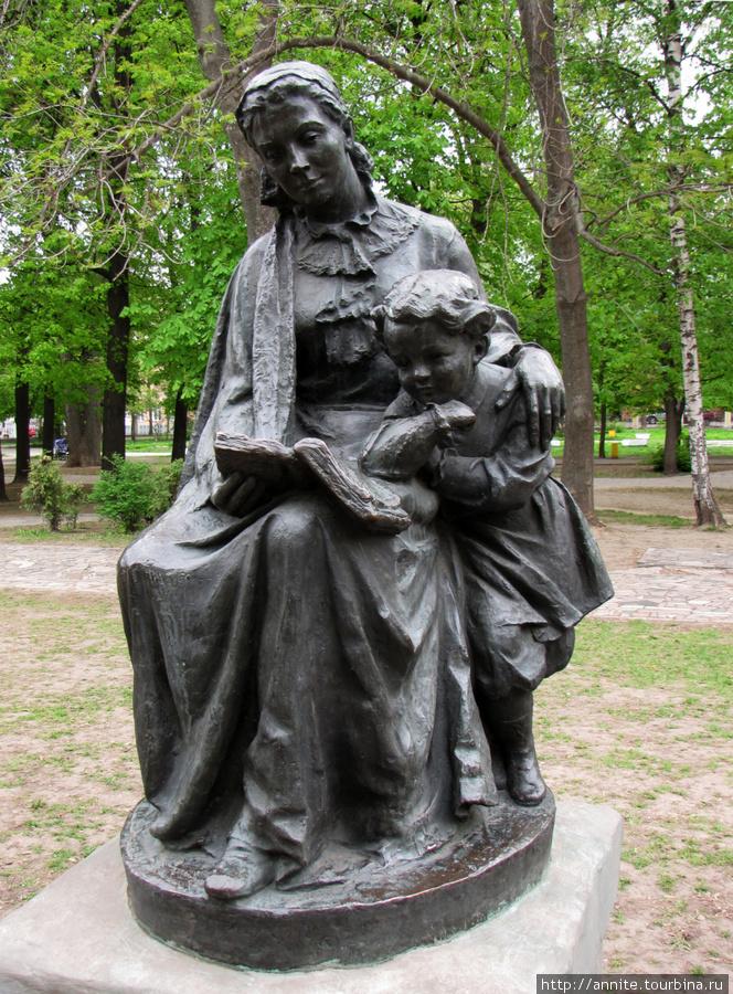 Дама с ребенком.