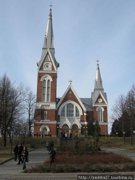 Лютеранская церковь. Неоготика с элементами модерна ...