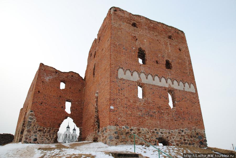 Донжон Лудзенского замка