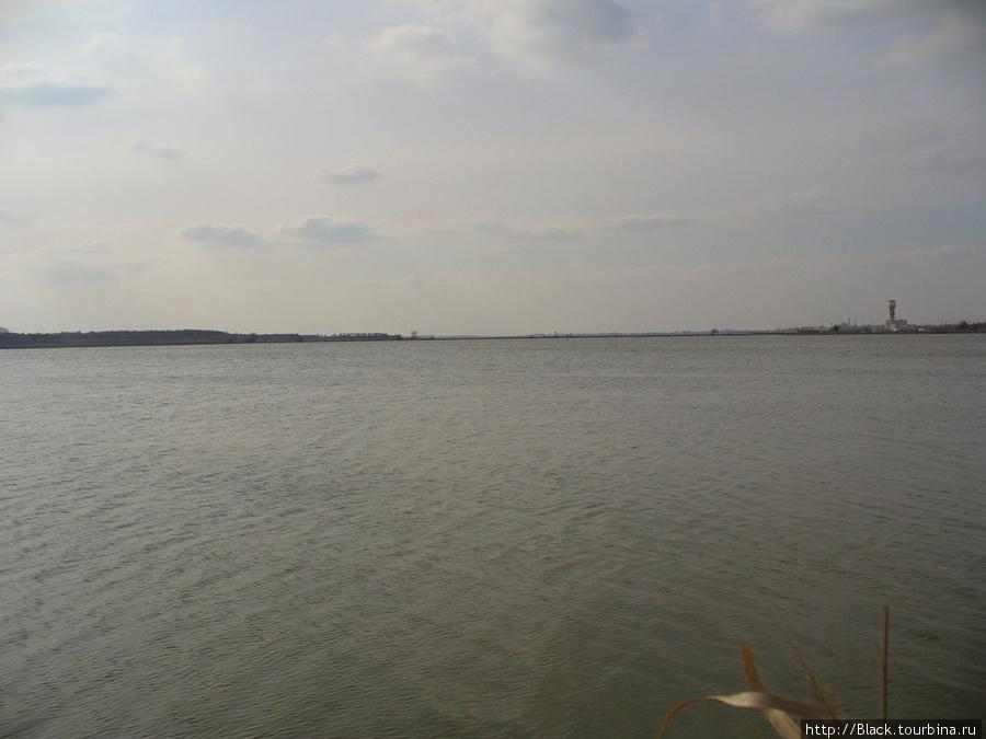 Буферный пруд – часть озера Сакское