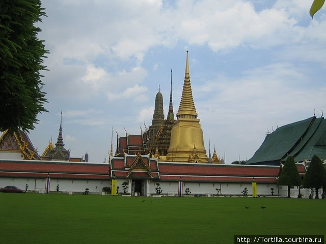 Бангкок. Королевский двор