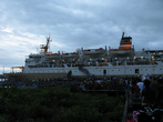 Большой пароход изредка заходит в Агатс