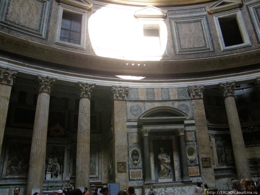Рим - Пантеон и Рафаэль