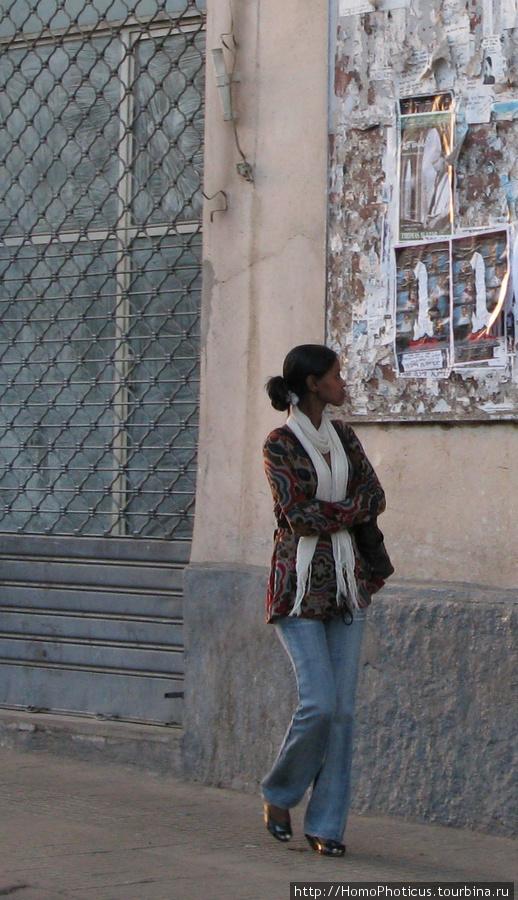 На улицах Асмэры