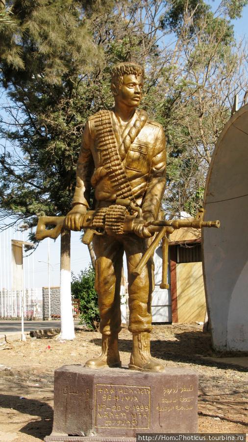 Памятник защитнику отечества