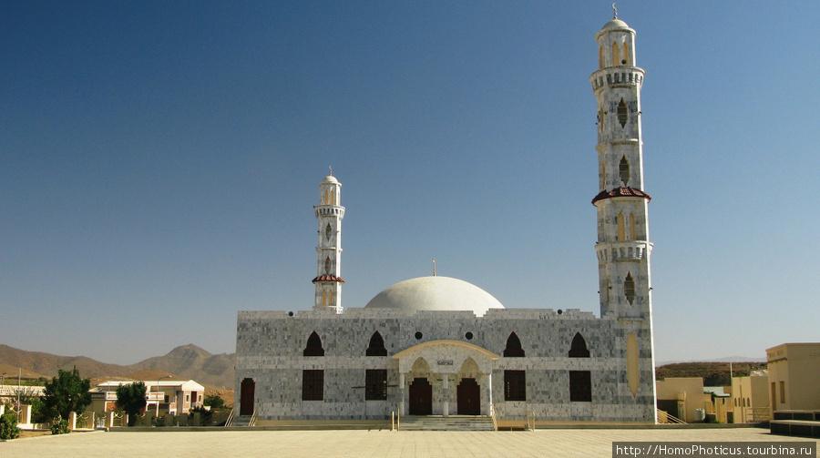 Мечеть, построенная сауди