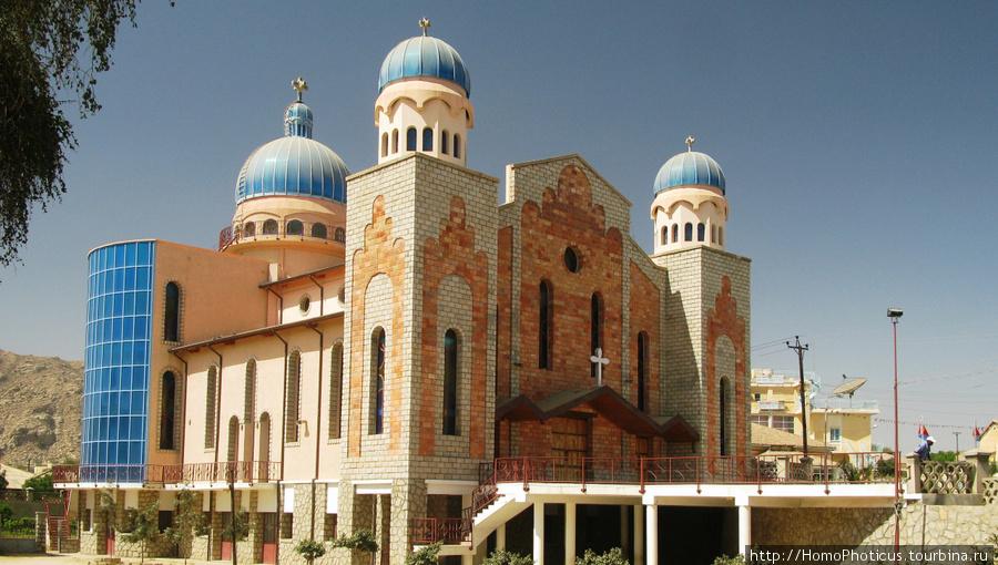 На улицах Кэрэна, Храм святого Антония