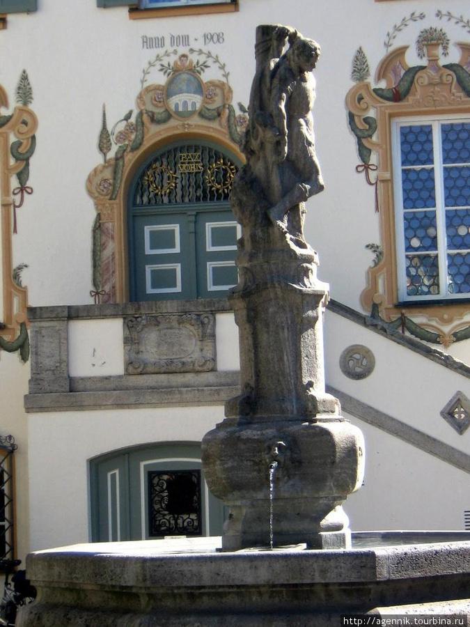 Фонтан-памятник жертвам I-ой мировой войны