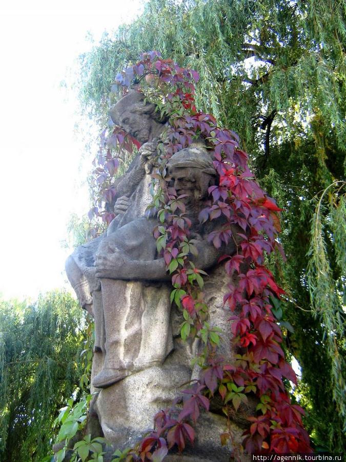 Статуя св. Непомука на мосту