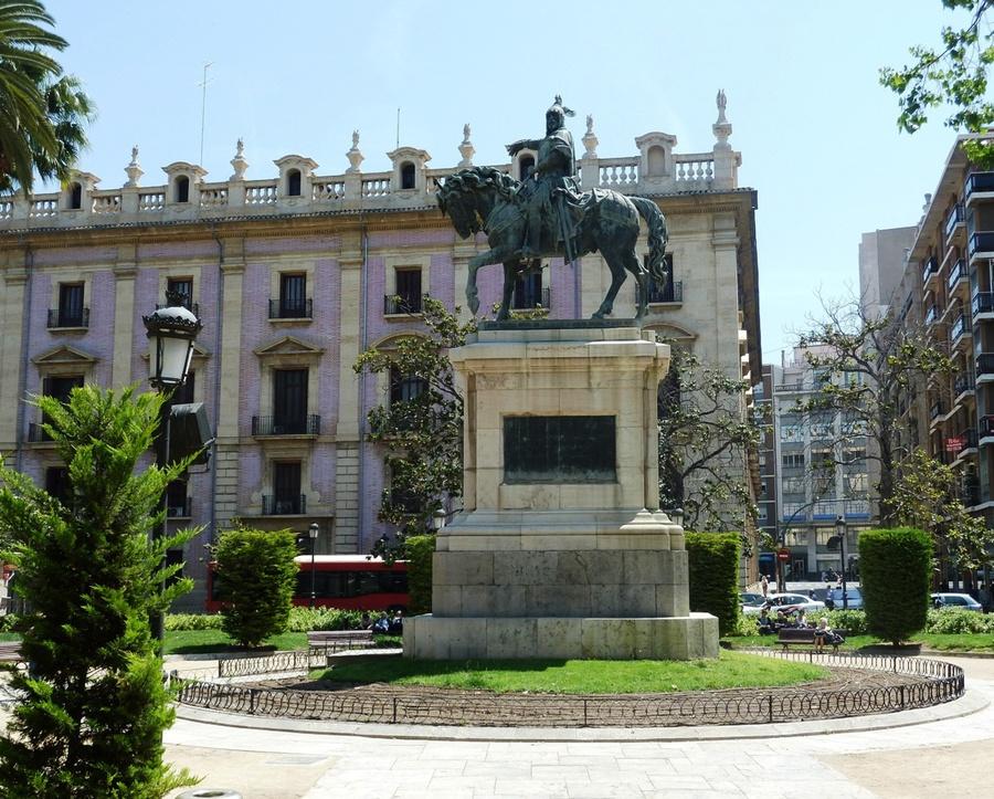 Памятник королю Альфонсо