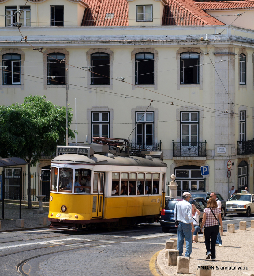 Желтый трамвай №28