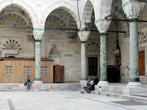 Внутренний двор мечети Баязида.