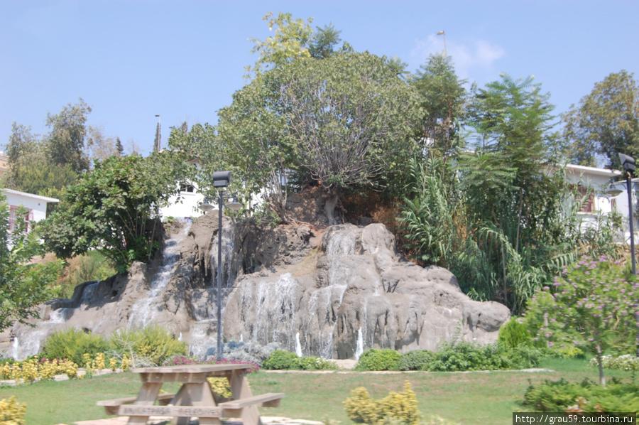 Мини-водопадик