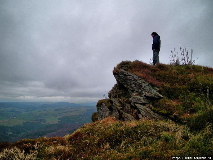 на горе Дрогобычский Каме