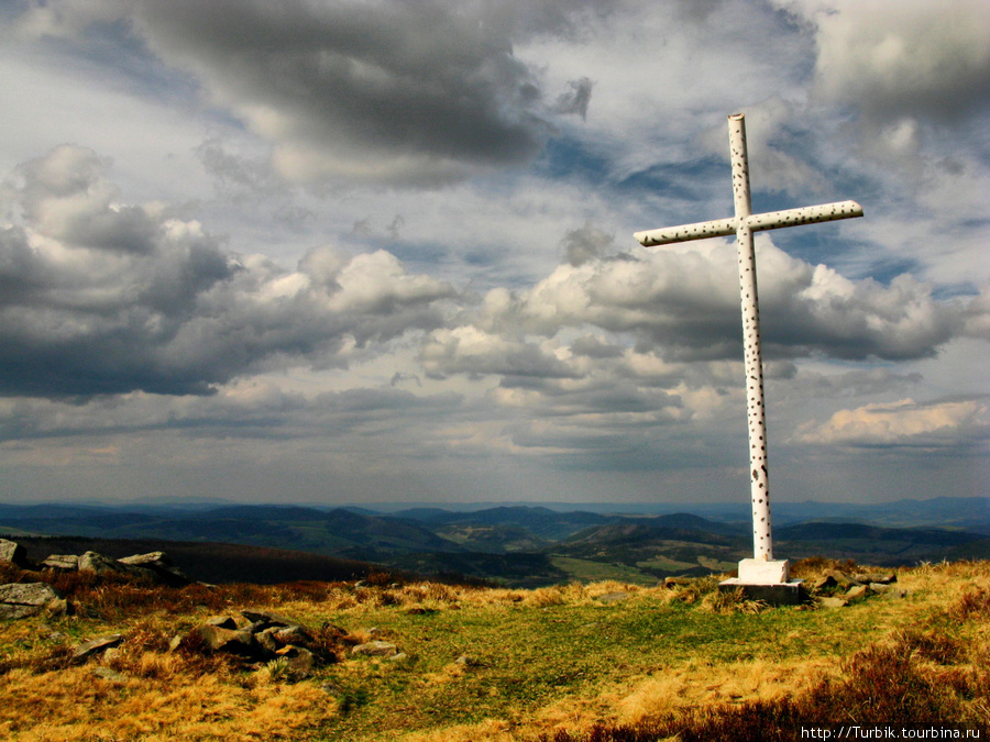 крест на перевале