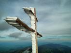 крест на вершине г. Пикуй