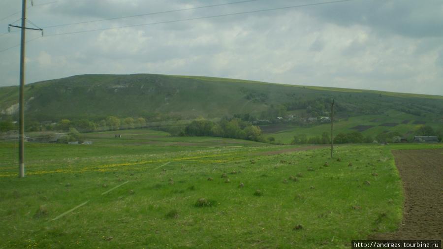 С этого холма слетают дельтапланеристы