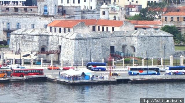 Самая старая Крепость в Гаване.