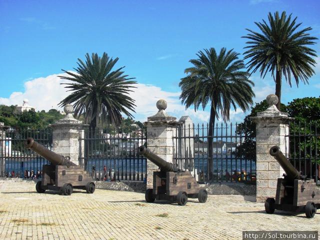 В крепости Ла Реаль Фуэрс