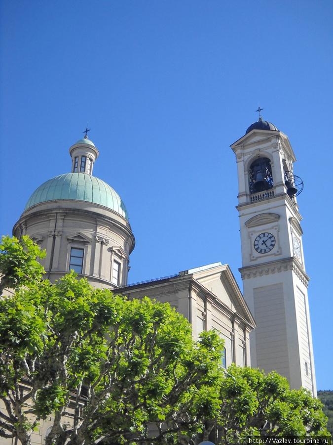 Купол и колокольня