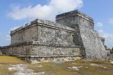 Хорошо сохранившиеся руины Тулума