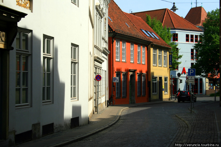 На родине бременских музыкантов Бремен, Германия