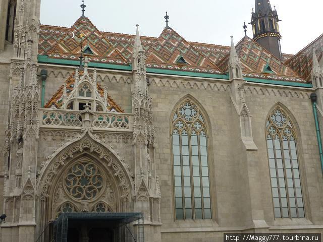 Церковь св. Матьяша. Фрагмент. Очаровала.
