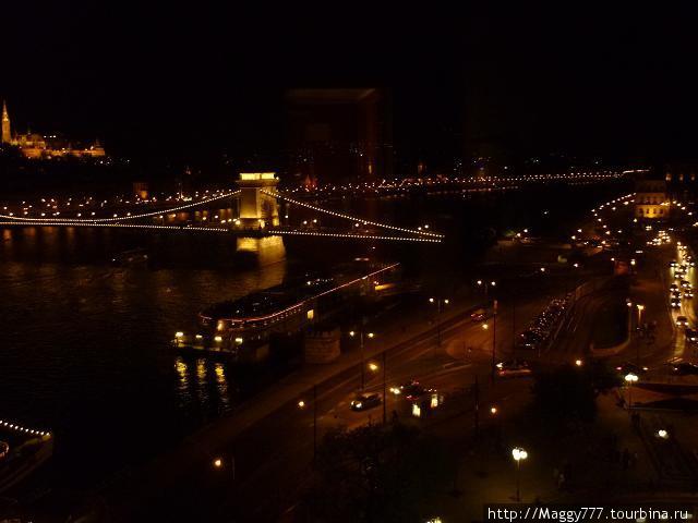 Ну и прощальный вид на город из окна. :)