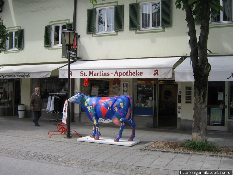 Корова-глобус