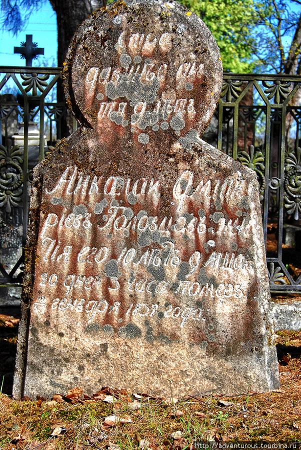 Николай Дмитриевич Головцов. Помер в возрасте 20 дней в январе 1831 года