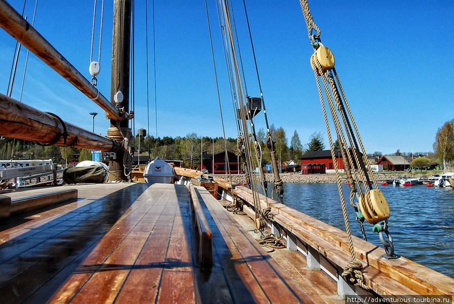 На палубе Osterstjernan