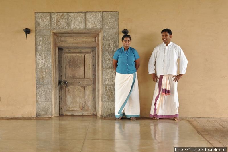 Ланкийцы в традионных для