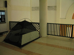 Моя палатка на втором этаже мечети, где я ночевал