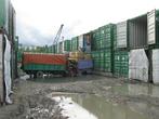 Разгрузка контейнеров