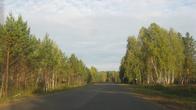по дороге в Дзержинское