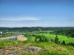 поселок Лахденкюля и река Хелюлянйоки
