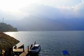 Берег озера Атитлан в Сан Педро