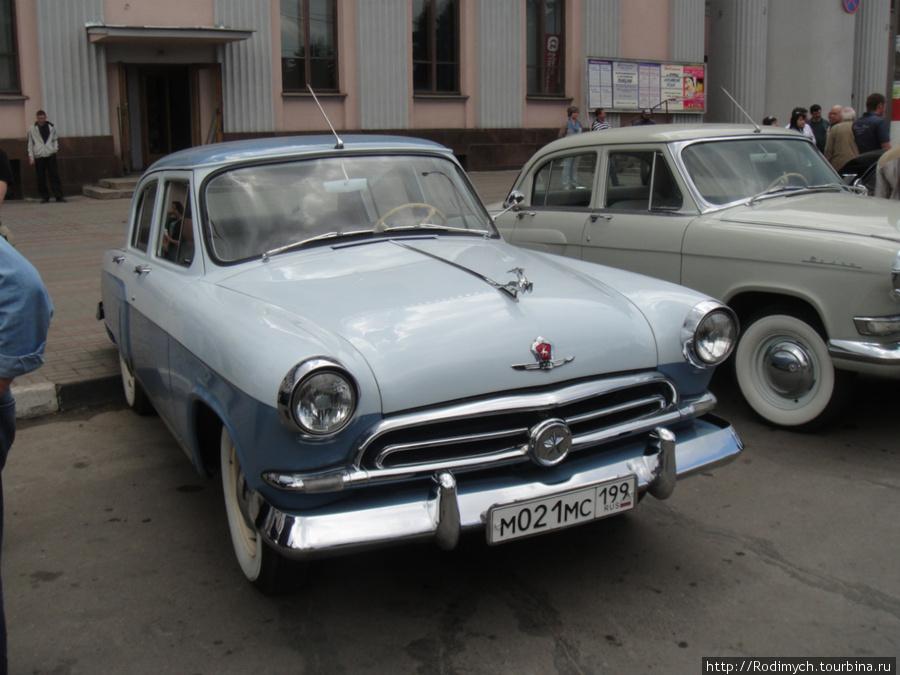 Самый любимый автомобиль коллекционеров ГАЗ-21