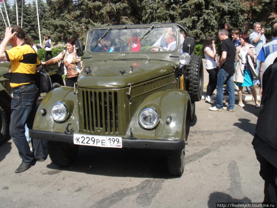 ГАЗ-69, он же УАЗ-469