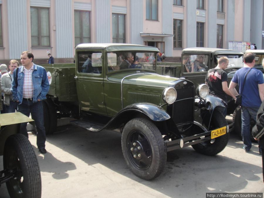 ГАЗ-ММ — модернизированный ГАЗ-АА