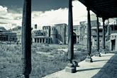 Город — декорация для фильма Т. Бекмамбетова