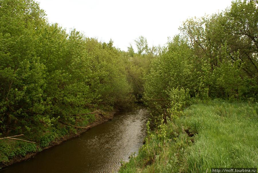 А это река Сарбай, один из притоков реки Кинель.
