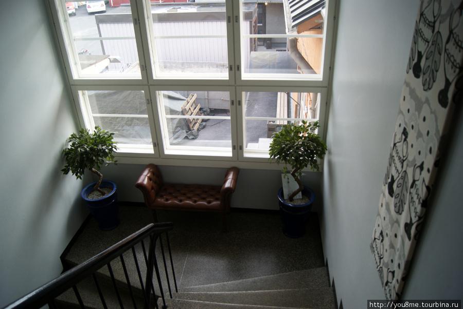 лестница на первый этаж