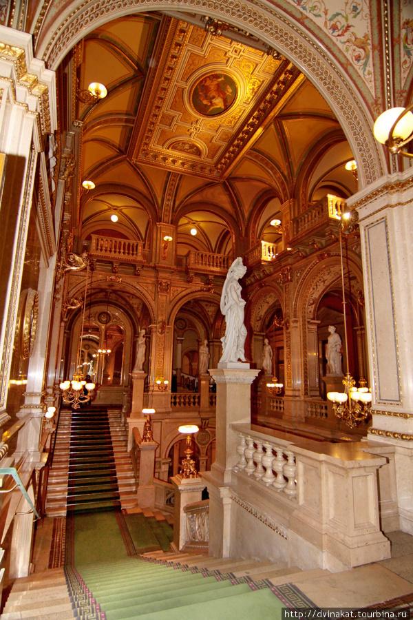 Венская опера изнутри